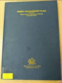 Forest Management Plan Year 2009 - 2018